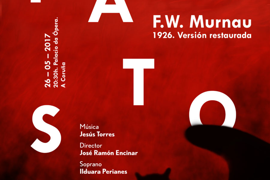 Gala de inauguración  Fausto, de Murnau, sonorizada en directo por la Orquesta Sinfónica de Galicia