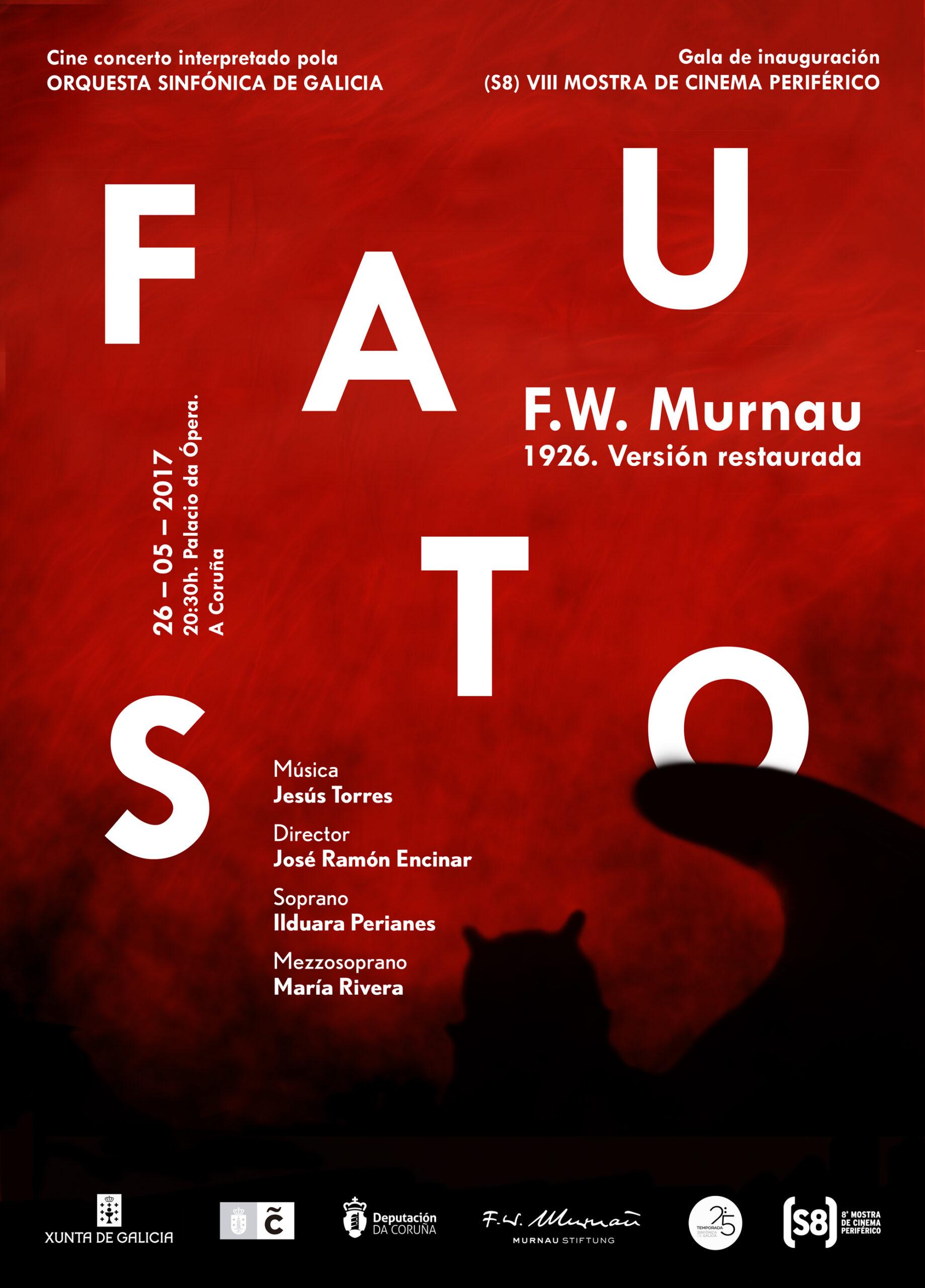 Gala de inauguración  Fausto, de Murnau, sonorizada en dire...
