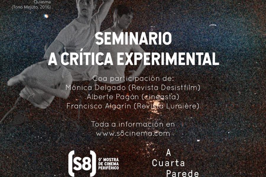 Abierta la convocatoria del seminario La crítica de cine experimental